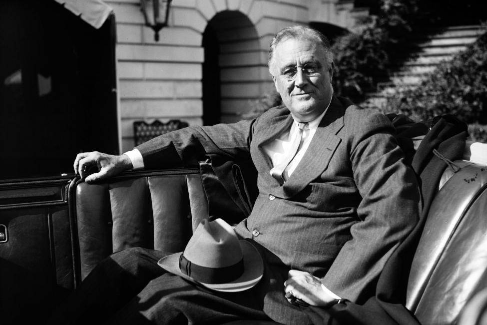 President Franklin Roosevelt تنها رئیس جمهور که از فورت ناکس بازدید کرد