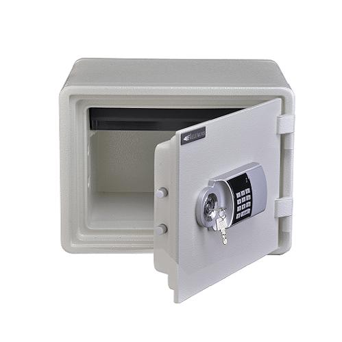گاوصندوق m020 k مدل کلید دار سفید