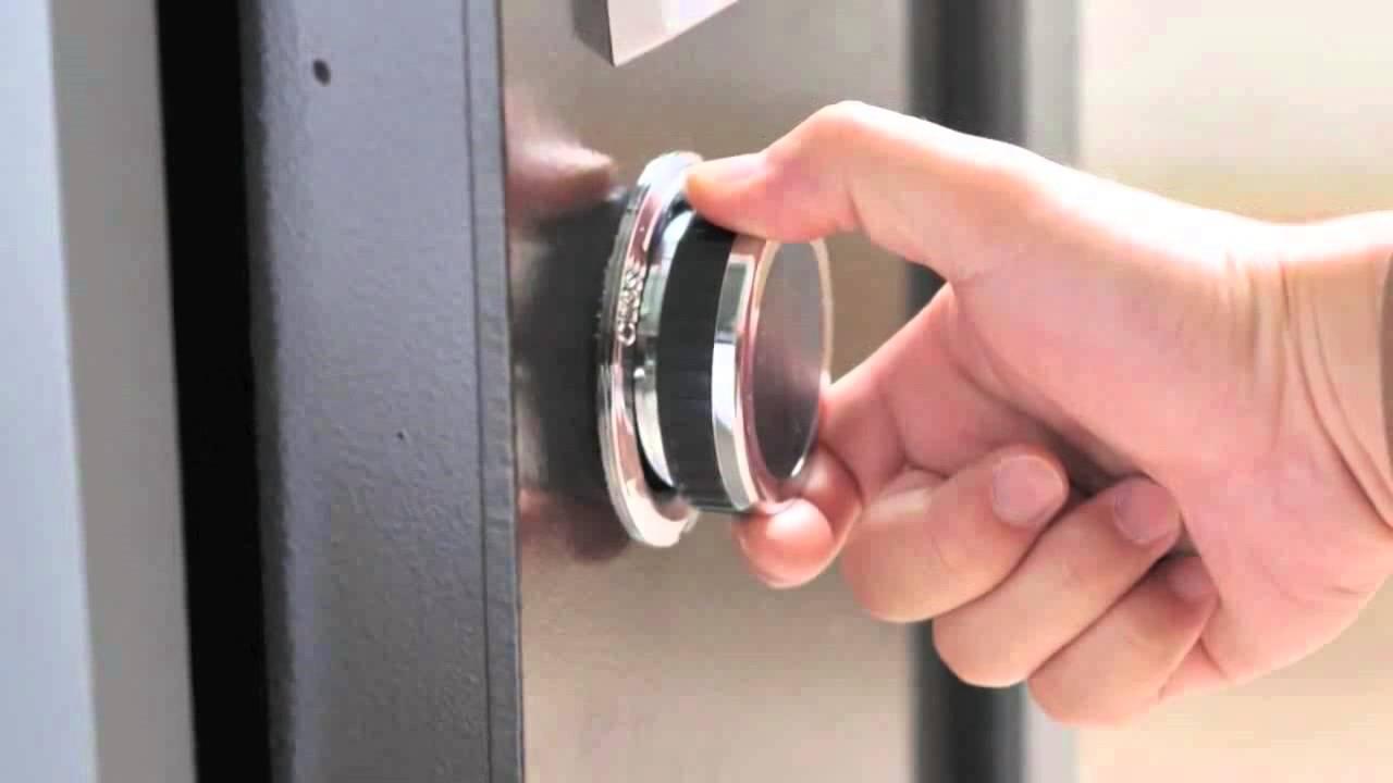 دجهبندی قفل گاوصندوق مکانیکی